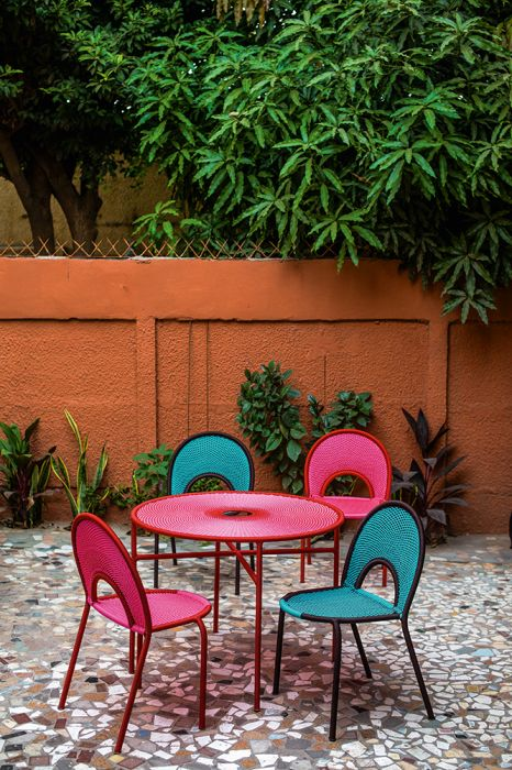 Banjooli Table de bistrot Moroso