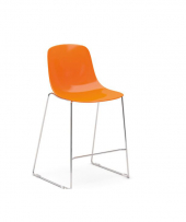 Pure loop kitchen stool