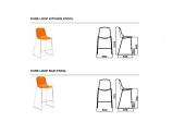 Pure loop stool Infiniti