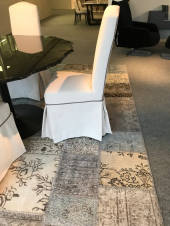 Chair with skirt Dall'Agnese - outlet