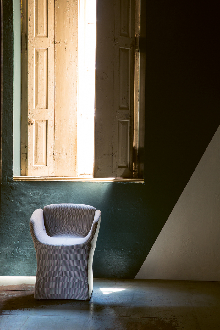 Bloomy chair Moroso