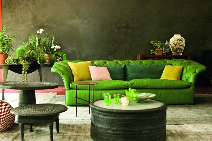 Bohemian sofa Moroso