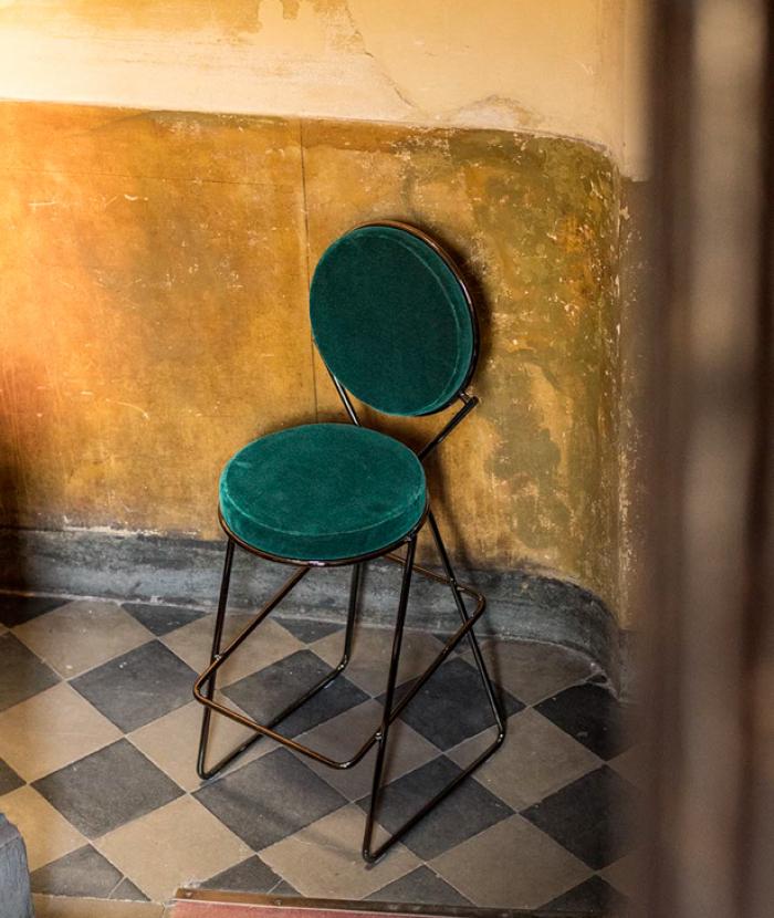 Double Zero stool Moroso