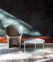 Moon small armchair Moroso