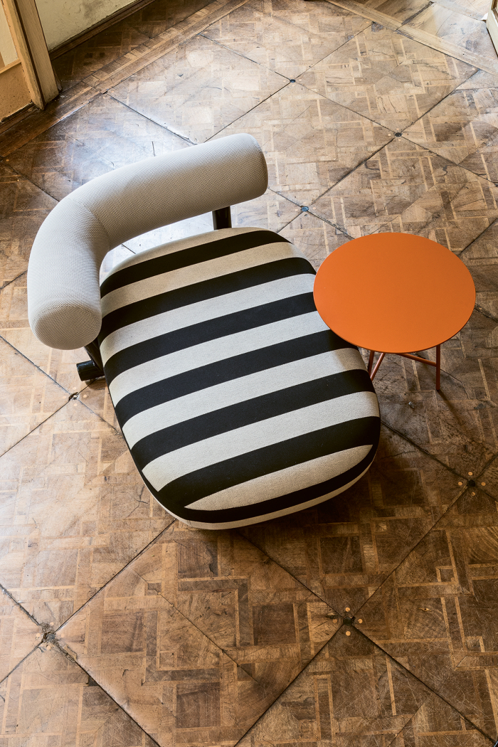 Pipe chaise longue Moroso