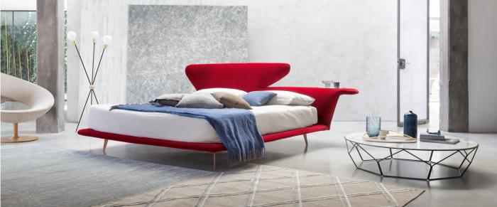 Lovy bed Bonaldo