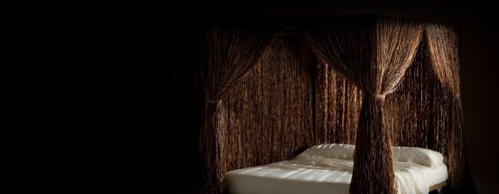Cabana Edra - letto