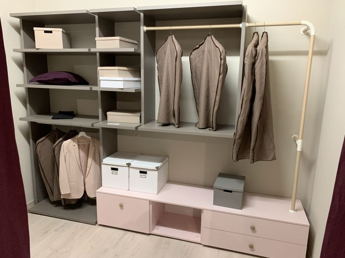 Composition E Walk-in Closet Nests - outlet