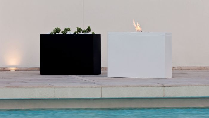 Planter Bioethanol fireplace Talenti