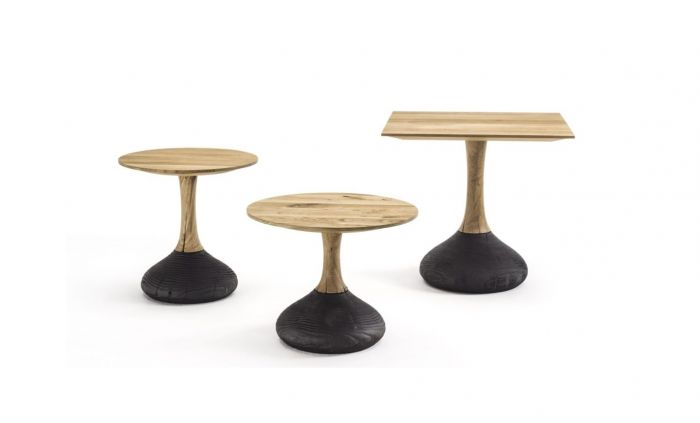 Decant Small Table Round & Squared Riva 1920