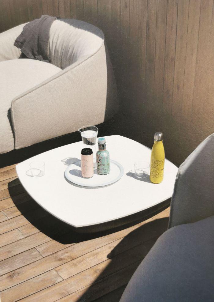 Brioni Coffee table outdoor kristalia